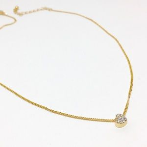 Jewelry - NOWT Gold heart pendant necklace